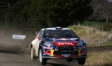 Sebastien Loeb in the box seat at Rally NZ