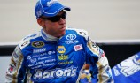 Mark Martin on pole at the Monster Mile