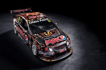 The new-look #51 Pepsi Max Crew Commodore