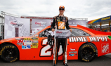 Joey Logano takes pole on newly-repaved Pocono