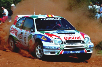 The Toyota Corolla from the late 90s