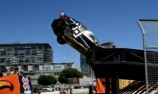 Driver injured in ramp jump accident at X Games