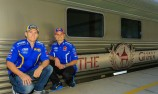 Holdsworth, Slade embark on train journey to Hidden Valley