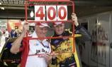 Steve Johnson celebrates 400th V8 Supercars start