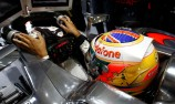 Lewis Hamilton quickest at soggy Silverstone