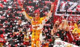 Hunter-Reay secures hat-trick in Toronto