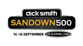 The new Sandown 500 logo