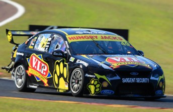Steve Owen in the #49 VIP Petfoods Ford Falcon