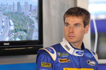 Will Power drove with Ford Performance Racing at the Gold Coast in 2010