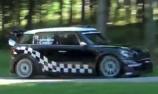 Chris Atkinson tests MINI ahead of Rally Deutschland