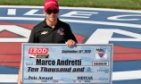 Marco Andretti to start from pole at Fontana