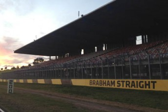 Sydney Motorsport Park's front straight will be known as Brabham Straight