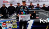 Denny Hamlin 'Monsters' the field to grab Dover pole