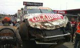 Crashed Lockwood car to be repaired for Saturday