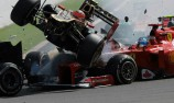 Romain Grosjean suspended from Monza after Spa pile-up