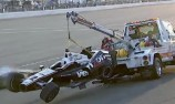 Will Power crashes out of Fontana finale