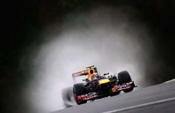webber 344x224 Webber gets grid penalty amid Spa practice washout