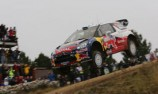 Mikko Hirvonen on the brink of maiden WRC Citroen win