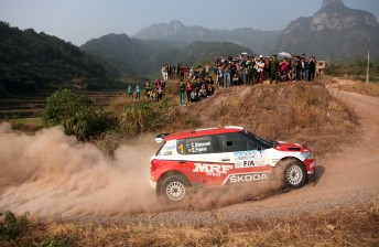 Chris Atkinson secures Asia Pacific Rally Championship
