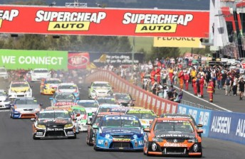Chaz Mostert leads the 2012 Dunlop Series with two rounds remaining