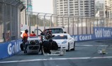 Rollover headlines first Aussie Racing Cars race