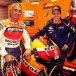 Mick Doohan samples latest-generation Repsol Honda