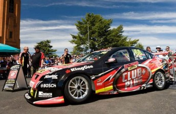 The new-look #66 Holden