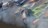 Kenseth emerges from last corner wreck to win at Talladega