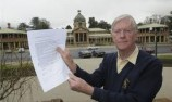 Tony Cochrane acknowledges late Bathurst mayor