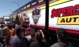 VIDEO: Behind the scenes with Supercheap Auto Racing's truckie