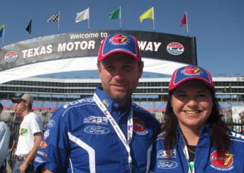 Ian and Kelly Penman in Texas