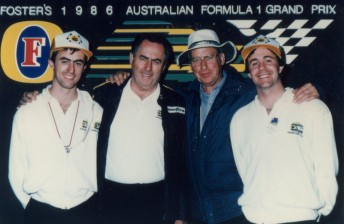 With Jack Brabham and sons David and Gary 344x224 Max Stahl
