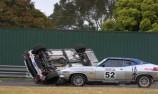 Torana rollover stops Sandown Touring Car Masters opener