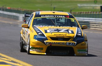 Josh Hunter took the 2012 Kumho title in a Fernandez Motorsport prepared ex-Ford Performance Racing Falcon