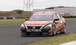 VIDEO: Nissan Altima V8 gets first track laps