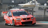Whincup in command during second Abu Dhabi practice