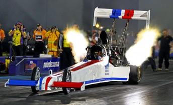 Mark Sheehan took Top Fuel in Perth