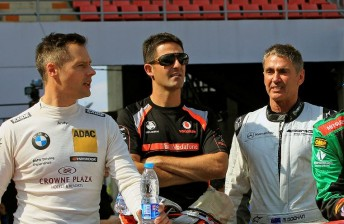 World champions tip Whincup to surprise in Race of Champions