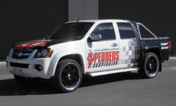 The Holden Colorado is one of the cars mooted as an entrant in the 2015 V8 Utes Series