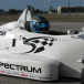 Mathew Hart gets first taste of wings and slicks race cars