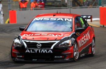 The Nissan Altima has conducted its first official test at Winton Raceway