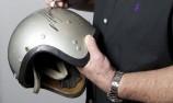 Rare Alan Jones go-kart helmet uncovered in market