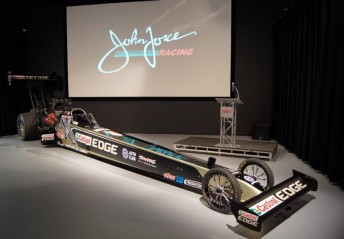Brittany becomes the third female Force to race in the NHRA under JFR