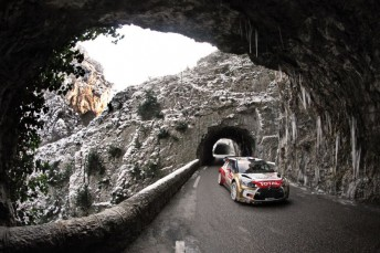 Loeb Monte day 3 344x229 Sebastien Loeb on the verge of another Monte title
