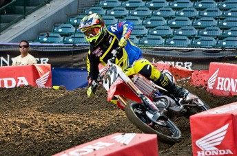 Reed 344x227 Work to do for Chad Reed after Phoenix Supercross