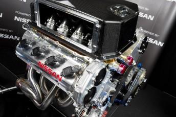 nissan engine 344x229 Nissans horsepower hunt continues as season nears