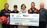 Jeff Gordon charity helps Aussie cancer kids