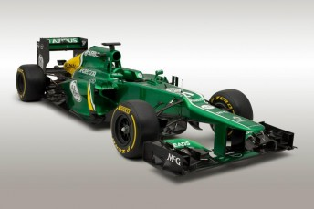 Caterham 344x229 Formula 1 minnows launch new cars