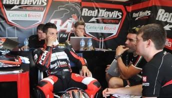 Fabrizio 344x197 Fabrizio quickest in World Superbikes opening practice