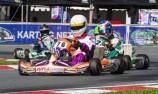 Chris Sandrone surprises at Stars of Karting opener